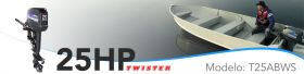 MARANELLO DE 25 HP TWISTER PART. MANUAL - R$ 16.198,00
